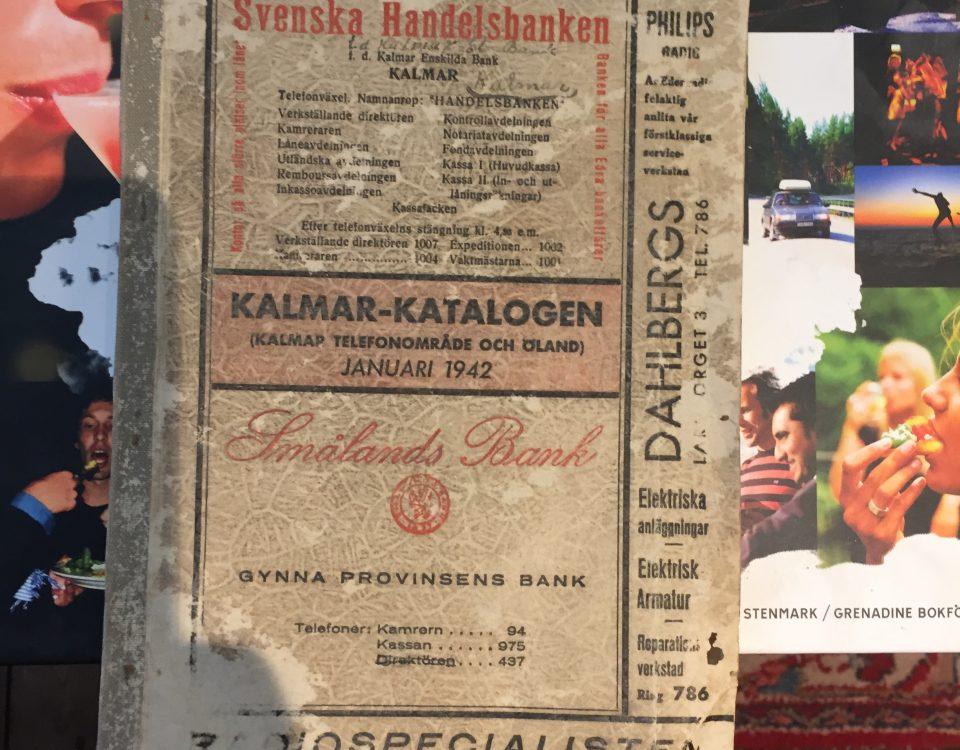 Kalmars första telefonkatalog