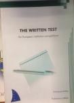 Det skriftliga testerna för Europa byråkrater
