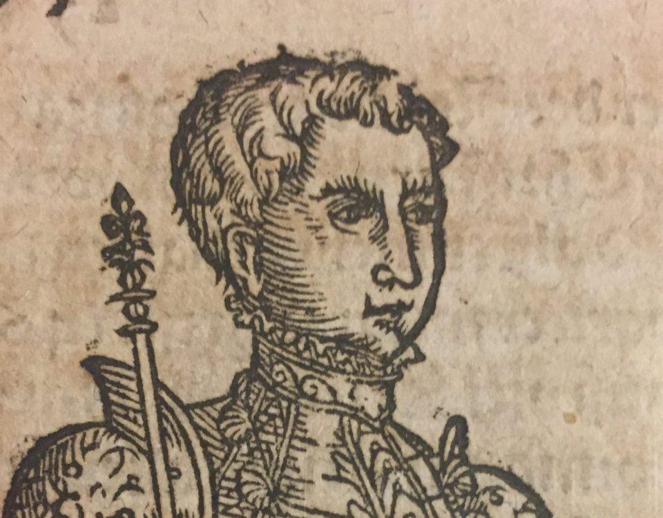 En bild på en ung Gustav Vasa.
